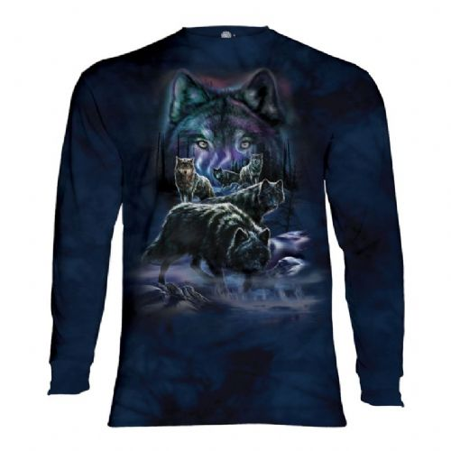 Wolf Pack - Adult Long Sleeve T-shirt - The Mountain®